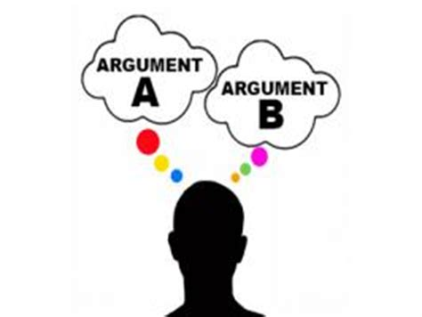 Argument vs thesis statement